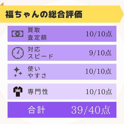 福ちゃん評価